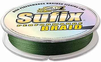 Sufix 10lb Performance Braid 150yd Spool-Green