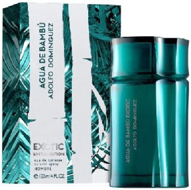 Adolfo Dominguez Agua de Bambu Exotic Perfume para Hombre 120 ml