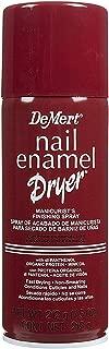 DeMert Nail Enamel Dry Spray 7.50 oz (Pack of 8)