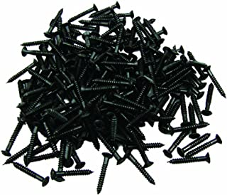 Musiclily Guitar Humbucker Pickup Frame Ring Mounting Screws for Gibson Les Paul SG Replacement, Black (Pack of 20)
