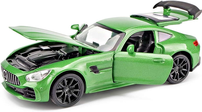 SXZHSMModel car Mercedes Model Car 1 32 Analog DieCasting Alloy AMG Sports GTR Toy Model Car Boy Gift