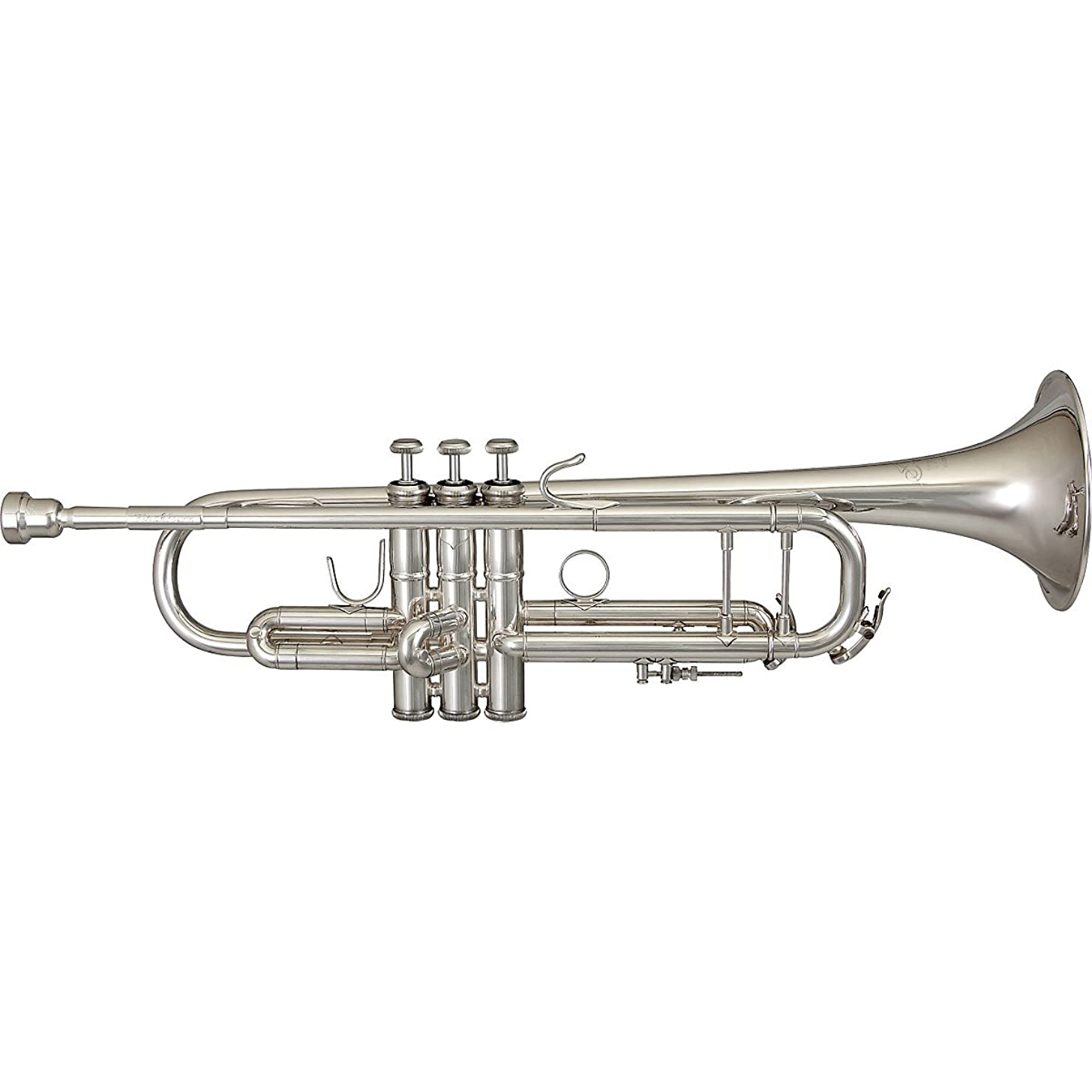 Sonare TRB801S Bb Trumpet with Adjustable Valve, Silver