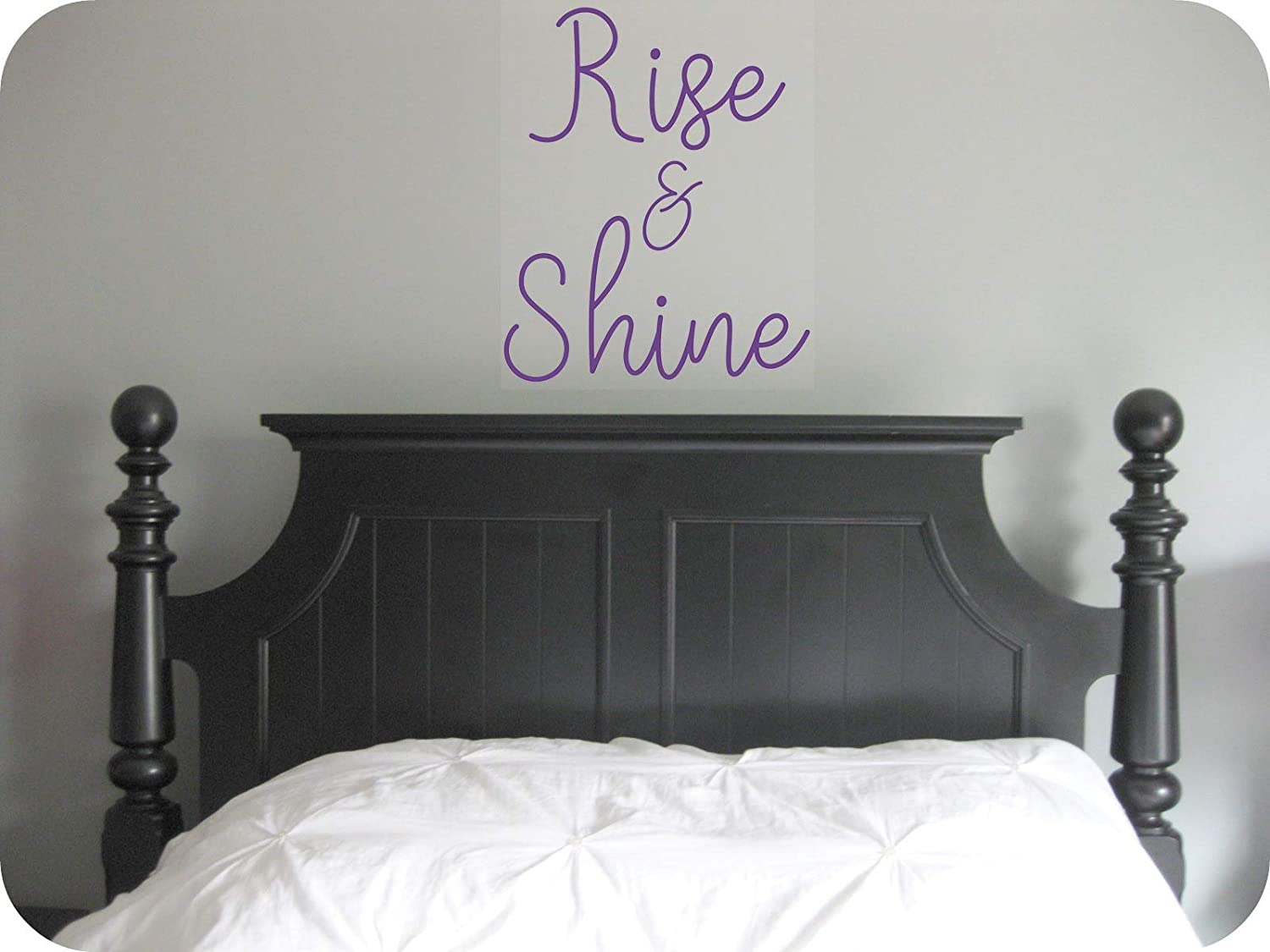 'Rise And New products world's highest quality popular Shine' Quote Motivational Max 53% OFF vinyl Decal Sticker.
