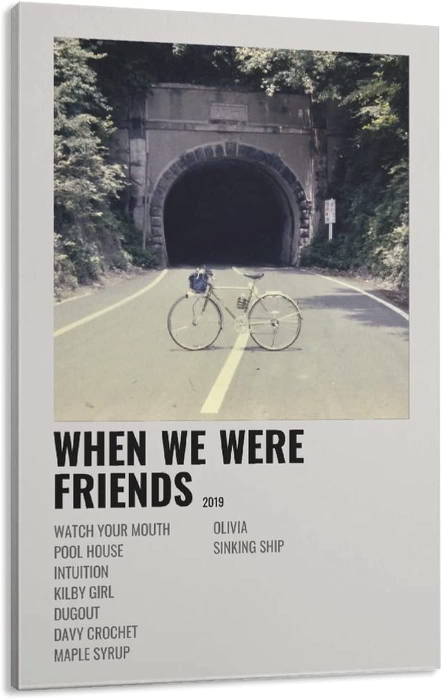 When We Were Friends The Backseat Canvas Cheap bargain Poster Art Manufacturer regenerated product Wall Lovers