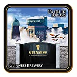 Guinness Coaster Montage Of Storehouse, Flying Toucans And St. James's Gate