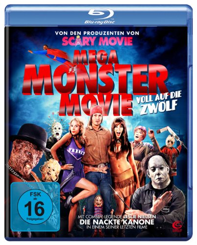Mega Monster Movie (Von den Machern von Scary Movie) [Blu-ray]