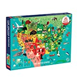 Best Jigsaw Puzzles For Adults - Mudpuppy 1000 Piece United States Jigsaw Puzzle Review