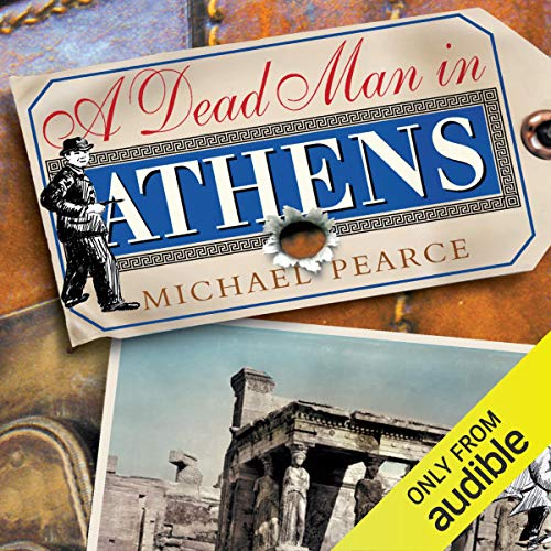 A Dead Man in Athens audiobook cover art