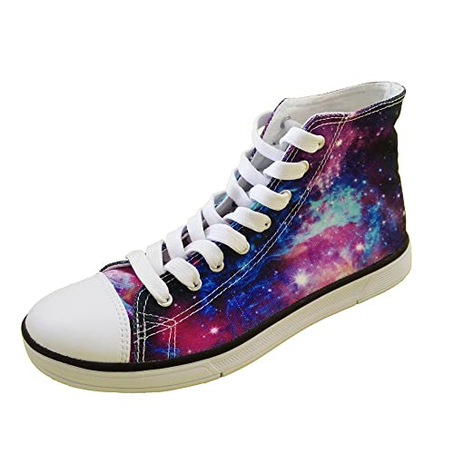 20527894904f7 Galaxy Print Shoes: Amazon.com