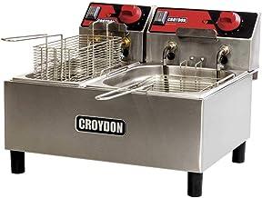 Fritadeira Elétrica 110V com 2 Cubas 3 e 4,5 litros F1AB - Croydon