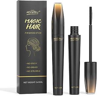 Hair Finishing Stick, 2 PCS x 10ML Neat Hair Stick, Small Broken Hair Finishing, Natural Ingredients, Refreshing Not Greas...