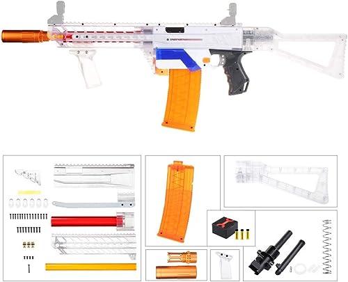NFWorker MCX B Style courte Darts Upgrade for Nerf N-Strike Retaliator Blaster