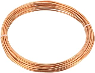 uxcell Refrigeration Tubing, 1/16 inches OD x 1/32 inches ID x 9.8 Ft Soft Coil Copper Tubing