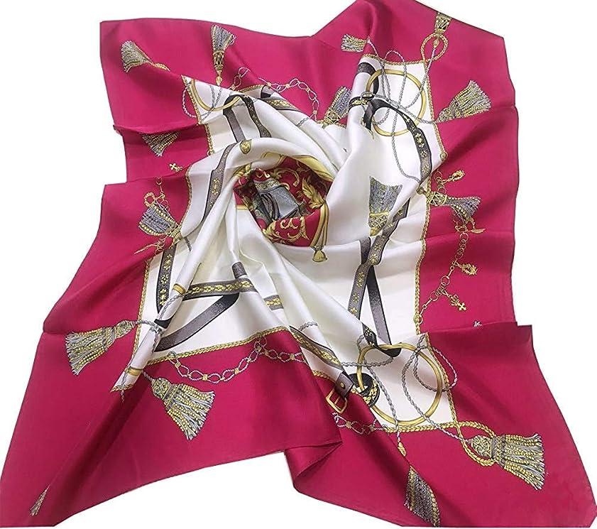 物理学者午後ジャケットシルクスカーフ 日本製 2019新柄 大判 88x88cm シルクツイル #9534ポイントマークエルメス