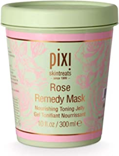 Pixi Skintreats Rose Remedy Mask 10 Fl. Oz! Formulated With Roses, Argan Oil, Cica And Tumeric! Rose Face Mask That Hydrat...