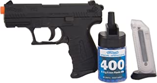 Walther P22 6mm BB Pistol Airsoft Gun, Black