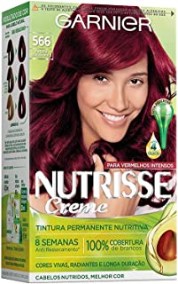 Coloração Nutrisse Creme 566, Pimenta Dedo de Moça, Garnier