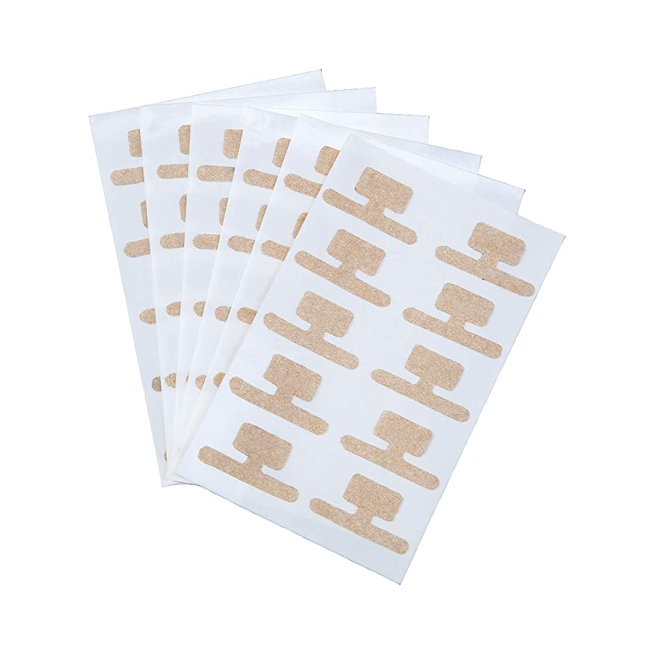 八ミス別々に巻き爪ダブルケアテープ 60枚入 持ち上げ シール 食い込み 痛み サポート 貼るだけ 足 フットケア