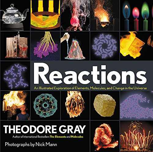 Reactions: An Illustrated  Exploration of Elements, Molecules, and Change in the Universe Book
