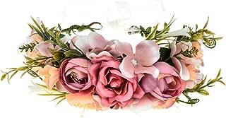 Vividsun Adjustable Flower Crown Floral Headpiece Floral Crown Wedding Festivals Photo Props