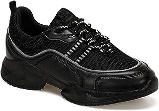 CS20002 Siyah Kadın Sneaker Ayakkabı