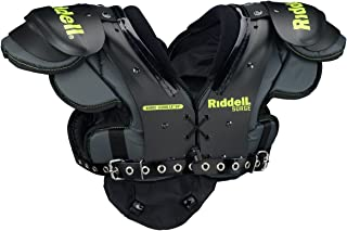 Riddell Sports Surge Youth Football Shoulder Pad Black/Volt