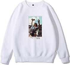 AWJK Diego Armando Maradona Mens Hoodies NO.10 Sweatshirt Add Velvet to Keep Warm Casual Long Sleeve, Black,Plus Velvet,M,...