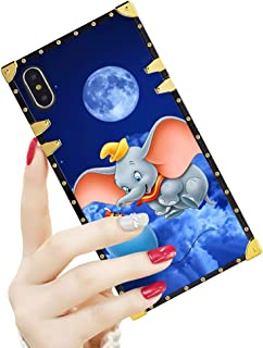 DISNEY COLLECTION Luxury Square Case for iPhone Xs Max [6.5