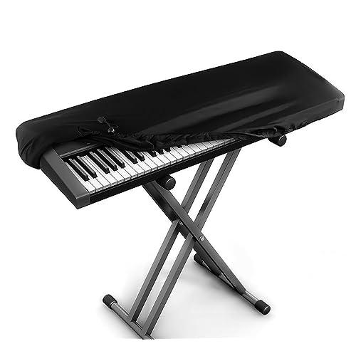 JamBer Cubierta para el teclado de piano tapa de teclado de piano para teclados de 88