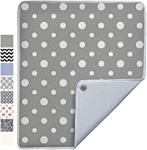 Gorilla Grip Premium Ironing Pad, Machine Washable, Magnetic Laundry Pad, 28 x 24 Inch, Heat and Scorch Resistant, Iron Board Mat for Table Top, Washer, Dryer, Durable Pads Great for Travel, Dots