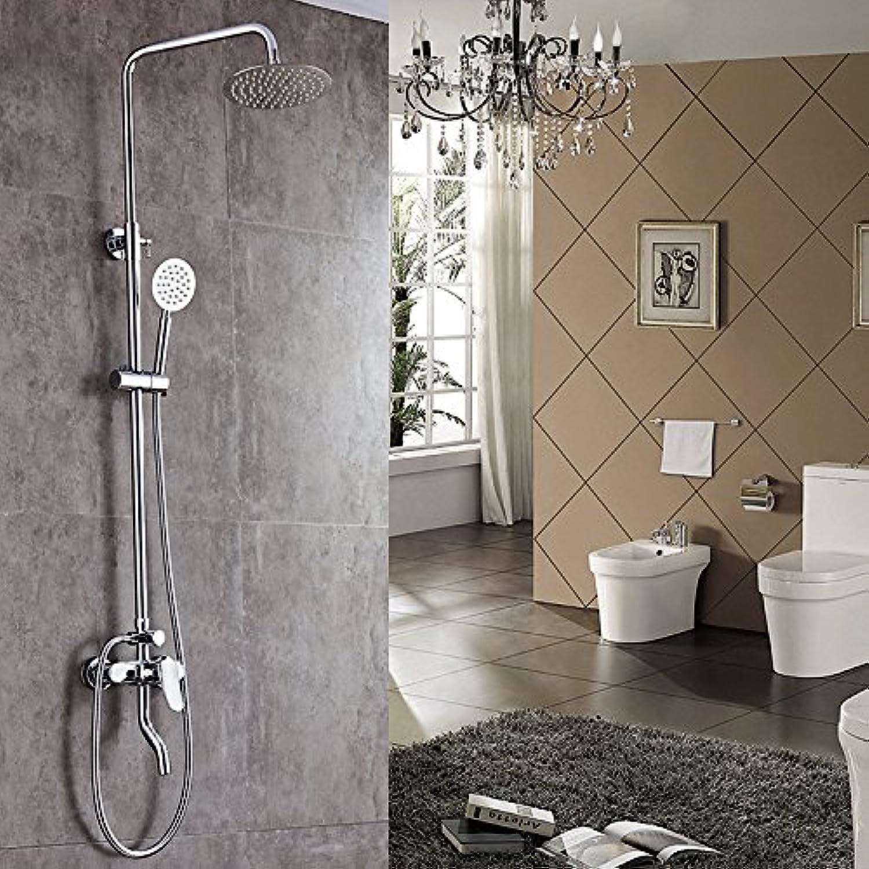 ZS Kupfer Dritten Gang Dusche auf und Ab Duschkopf Duschkopf,Silber