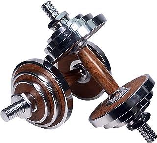 Kotee 30kg hantel & barbell set arm muskel fitnessplattor muskelträning justerbar vikt uppsättning dumbells hem kropp trän...