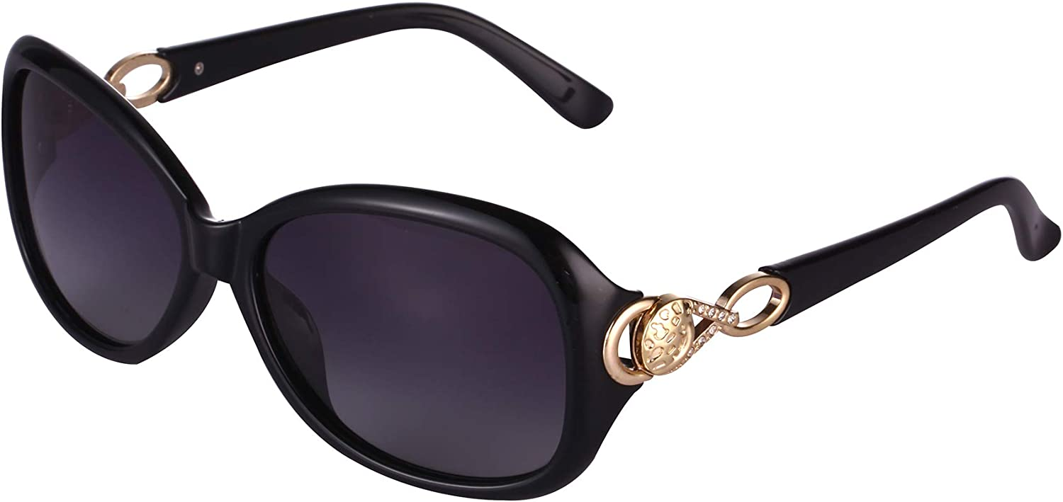 Classic Butterfly Shaped Oversized Polarized Sunglasses for Women 100% UV Predection Eyewear
