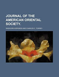 Journal of the American Oriental Society.