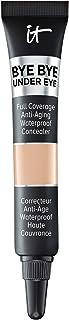 IT Cosmetics Bye Bye Under Eye, 20.0 Medium (N) - Travel Size - Full-Coverage, Anti-Aging, Waterproof Concealer - Improves...
