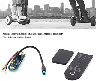 Scooter Circuit Board,Mosunx Appliance Scooter Clone Circuit Board + Dashboard Cover Replacement + Screws for Xiaomi MIJIA M365 Scooter (Black)