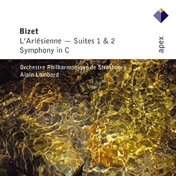 Bizet : L'Arlésienne Suites Nos 1, 2 & Symphony in C major  -  Apex