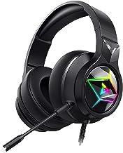 Xingyao 7.1 Casque de gaming électrique professionnel avec fil coloré, casque monté sur la tête, micro pour PC et ordinate...