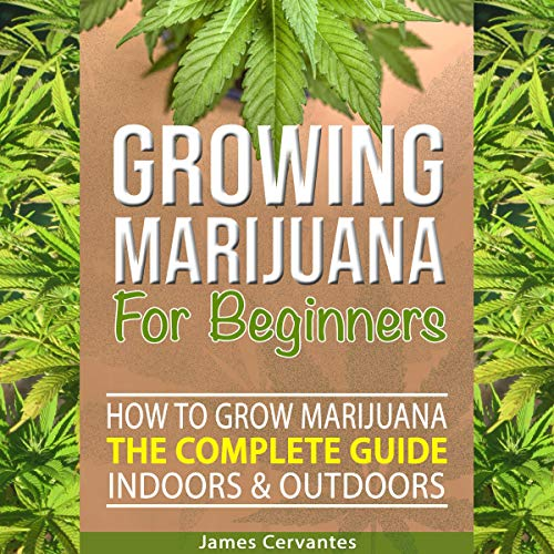 Growing Marijuana for Beginners audiobook cover art