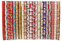Papillon Christmas Wrapping Paper