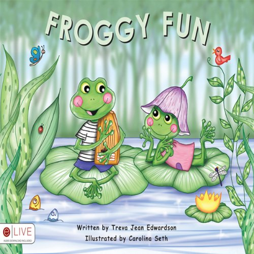 Froggy Fun audiobook cover art