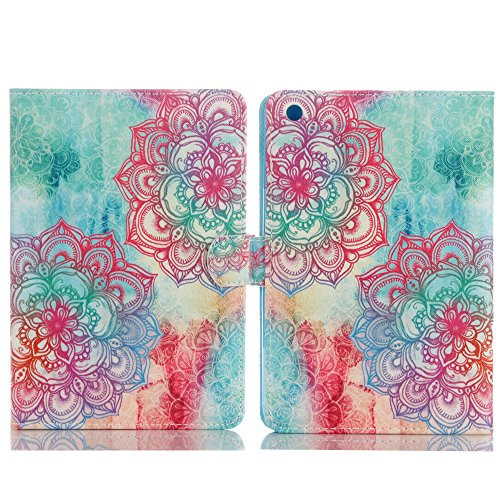 Protective Case For iPad 3,TechCode Luxury Book Style Case Stand PU Leather Case Protective Flip Folio Soft Rubber Cover For Apple iPad 2 iPad 3 iPad 4