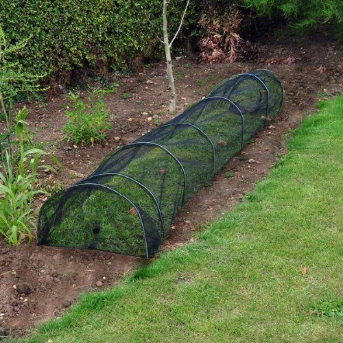 garden mile Large 3m Net Garden plant Grow Tunnel Cloche Seedling Propagator Plant Cover Frost Protection (3m Net Grow Tunnel)
