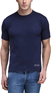 Scott International AWG - All Weather Gear Men's Polyester Round Neck T-Shirt - Navy Blue