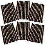 AERZETIX: Juego de 60 mechas 4mm 10cm Negro para Kit de reparacion de neumaticos C40655