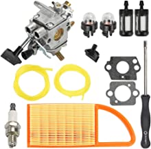 Hayskill BR600 BR500 Carburetor w Air Fuel Filter Repower Kit for STIHL BR550 Backpack Blower Carb Replace 4282-120-0606 4282-120-0607 4282-120-0608