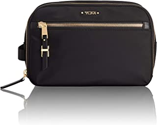 TUMI - Voyageur Erie Double Zip Cosmetic Case - Luggage Accessories Toiletry Bag for Women - Black