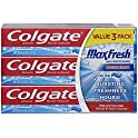 3-Count Colgate Max Fresh Toothpaste With Mini Breath Strips