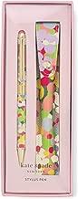 Kate Spade New York Black Ink Pen with Stylus Tip (Floral Dot)
