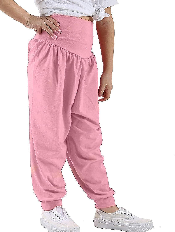 GirlzWalk Kids Harem Loose Baggy Sports Dancing Pants Girl's Harem Children Trouser